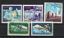 Kingdom Of Yemen 1965, Space - John F. Kennedy (o), CTO - Yemen