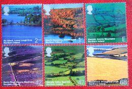 BRITISH LANDSCAPES Northern Ireland (Mi 2195-2200) 2004 POSTFRIS MNH ** ENGLAND GRANDE-BRETAGNE GB GREAT BRITAIN - 1952-.... (Elizabeth II)