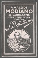Hungary CIGARETTE CIGARETTES TOBACCO Paper - LABEL Paper Package Cover - MODIANO 1930's - Andere