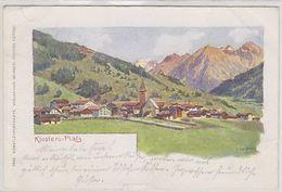 Klosters-Platz  - Signiert - 1899         (P-269-00209) - GR Grisons