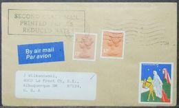 Great Britain - Cover To USA 1984 Cinderella - 1952-.... (Elizabeth II)