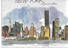 Livre New-York  Aquarelles - Art