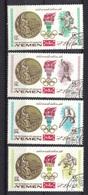 Kingdom Of Yemen 1968, Olympic Winners Mexico (o), CTO (not Complete) - Yemen