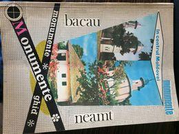 Romania In Centrul Moldovei Monumente Ghid Bacau Neamt Roman Tg Ocna Gh Dej - 128 Pag Humulesti - Libros, Revistas, Cómics