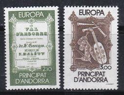 EUROPA ANDORRE FRANCAIS :  Yvert 339 340 Neuf XX  Cote 20 € - Europa-CEPT