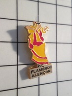 216c Pin's Pins / Beau Et Rare / THEME : ASSOCIATIONS / DANSE FLAMENCO ALENCON - Verenigingen
