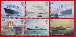 Ocean Liners Boat Ship Shiff (Mi 2210-2215) 2004 POSTFRIS MNH ** ENGLAND GRANDE-BRETAGNE GB GREAT BRITAIN - 1952-.... (Elizabeth II)