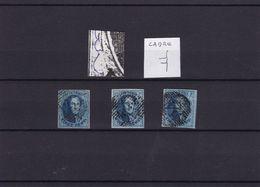 N° 11 Margés Retouche Et Prolongation De Cadre - 1858-1862 Medallions (9/12)