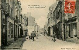 Paimboeuf * La Grande Rue Vers L'ouest * Commerce G. GAUTIER - Paimboeuf