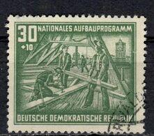 DDR+ 1952 Mi 305 Wiederaufbau GH - DDR