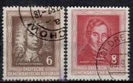 DDR+ 1952 Mi 308-09 Komponisten GH - DDR