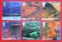 BRITISH LANDSCAPES WALES EUROPA CEPT (Mi 2223-2228) 2004 POSTFRIS MNH ** ENGLAND GRANDE-BRETAGNE GB GREAT BRITAIN - 1952-.... (Elizabeth II)