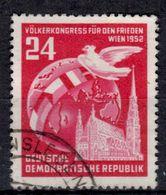 DDR+ 1952 Mi 320 Friedenskongress GH - DDR