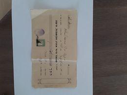 PALESTINE PALESTINA 1938 MET VINGERAFDRUK - Bills Of Exchange