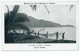 Océanie. île De Tutuila. Pêche Au Lauloa à Pagopago. Missions Des Pères Maristes.éditeur Sous-procure Paris VI° - Missie