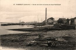 Paimboeuf * Bords De Loire Et Usines Du Haut Paimboeuf - Paimboeuf