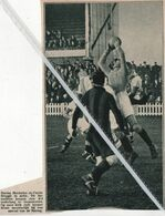VOETBALSPORT..1932.. RACING MECHELEN EN CERCLE BRUGGE IN ACTIE / KEEPER BRAET - Non Classés