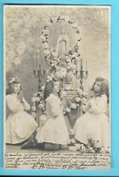 CHRISTIANISME--Disons à La Louange Avé Maria----fillettes--voir 2 Scans - Otros