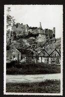 Photo 14,5 Cm X 9,5 Cm - 1934 - Vallée De La Molignée - Ruines De Montaigle - 2 Scans - Onhaye