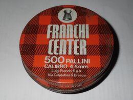 Boite Ancienne De Plomb Vide - Franchi Center - Boxes