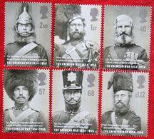 The Crimean War BATTLES MEDALS MILITARIA (Mi 2246-2251) 2004 POSTFRIS MNH ** ENGLAND GRANDE-BRETAGNE GB GREAT BRITAIN - 1952-.... (Elizabeth II)