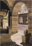 CPM - EDITIONS MICHA : Distribution : CLAUDE AUBERT - MD 10 - L'ARCADE DU PAS DE LA MULE - PARIS - Shops