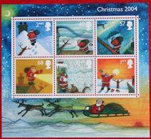 Natale Weihnachten Xmas Noel Kerst (Mi 2252-2257 BLOCK 21) 2004 POSTFRIS MNH ** ENGLAND GRANDE-BRETAGNE GB GREAT BRITAIN - 1952-.... (Elizabeth II)