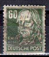 DDR+ 1952 Mi 338 Hegel GH - DDR