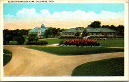 Ohio Columbus Scene In Franklin Park - Columbus
