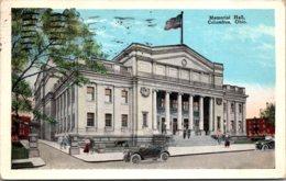 Ohio Columbus Memorial Hall 1927 - Columbus