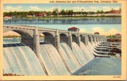 Ohio Columbus O'Shaugnessy Dam And Columbus Zoo Curteich - Columbus