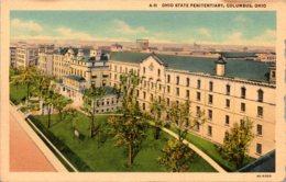 Ohio Columbus The Ohio State Penitentiary Curteich - Columbus