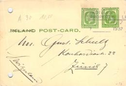 GS ?? New Zealand - Zürich 1932 - Postal Stationery