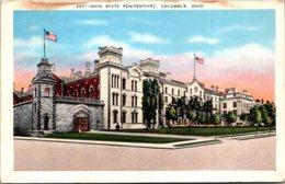 Ohio Columbus The Ohio State Penitentiary 1939 - Columbus