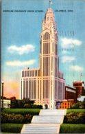 Ohio Columbus American Insurance Union Citadel 1938 - Columbus
