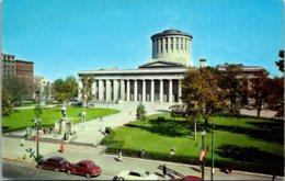 Ohio Columbus State Capitol And McKinley Statue - Columbus