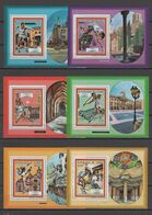 Guinea 1987 Olympic Games Barcelona, Tennis Etc. Set Of 6 S/s MNH -scarce- - Ete 1992: Barcelone