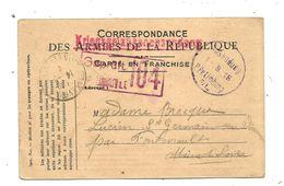 CORRESPONDANCE DES ARMEES DE LA REPUBLIQUE , ALLEMAGNE, Prisonnier ,LIMBURG ,1918 - Cartas