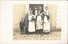 Le Blanc - Famille Crémieux Charcutier - Carte Photo En TB état - Le Blanc