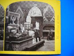 Photo Stéréoscopique  . Londres London , Exposition Universelle De 1862 .the Mediaval Court . 2 Scans . - Photographs