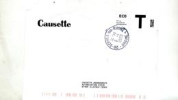 Enveloppe Reponse T Causette Cachet Serves - Enteros Postales