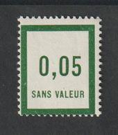 Fictif -  Emission 1932 -  F4 -  0,05  Vert (III)  - Neuf Sans Charnière - Phantom