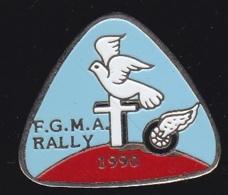 66359- Pin's.FGMA Rally Religion Catholique.Colombe.Croix. - Rally