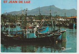 DEPT 64 : édit. Thouand N° 505 : Saint Jean De Luz Le Port Et La Rhune - Saint Jean De Luz