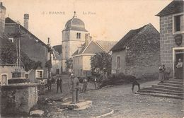 25 - CPA   HUANNE La Place - Sonstige Gemeinden