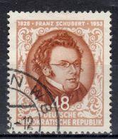 DDR+ 1953 Mi 404 Schubert GH - DDR