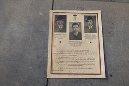 Wo2  Doodsbrief Gefusilleerden 3x Breendonk + 2/3/1944 Bertem Jourand Dottermans - 1939-45
