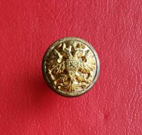 WW1 WWI Russian Imperial Army Button Of A High-class Official And Military Knopf - Bottoni