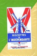 BUVARD & BLOTTER & Biscottes  De L'Independante  Moulin LILLE - Biscottes