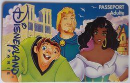 Entrée Passeport Adulte Disneyland Paris 1996 - Eintrittskarten